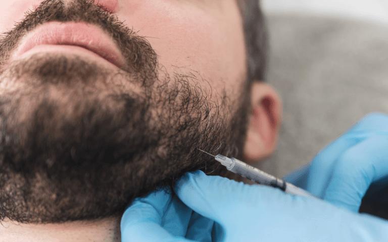 imagem de uma intervenção em cirurgia maxilo-facial